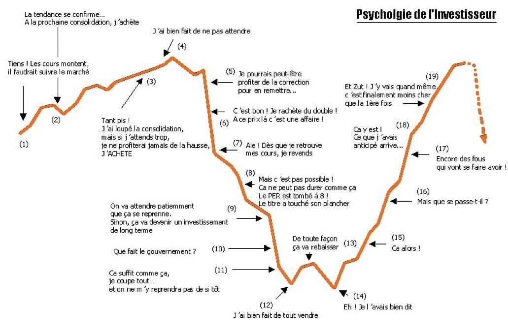 Prychologie de l'investisseur